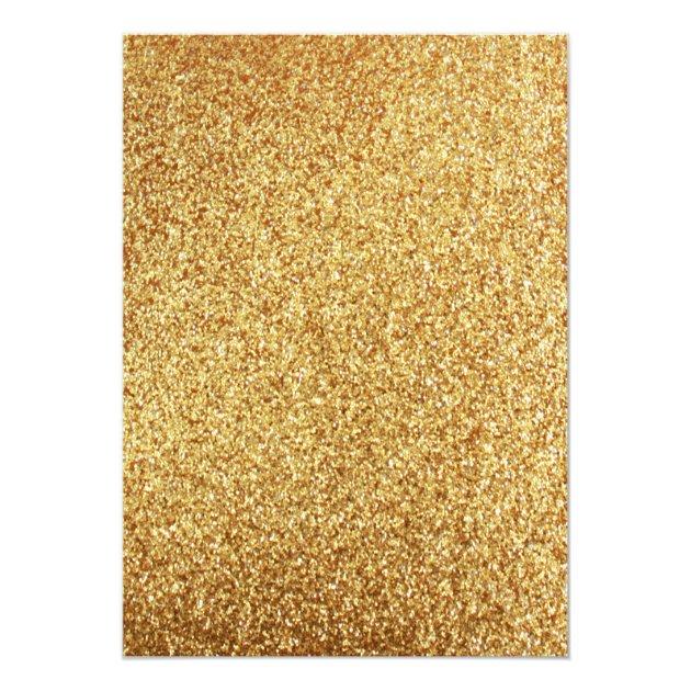 Elegant Coral Glitter Gold Wedding Invitation   Zazzle