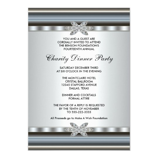 Corporate invitations announcements zazzle elegant corporate event card stopboris Image collections