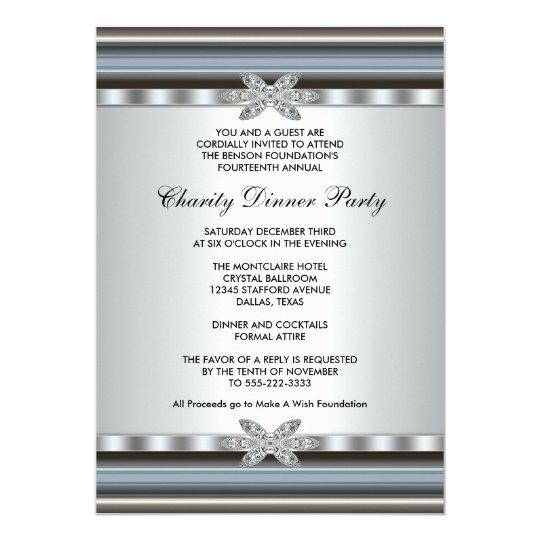 elegant corporate event invitation zazzle com