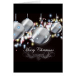 Elegant Corporate Holiday Greeting Greeting Card