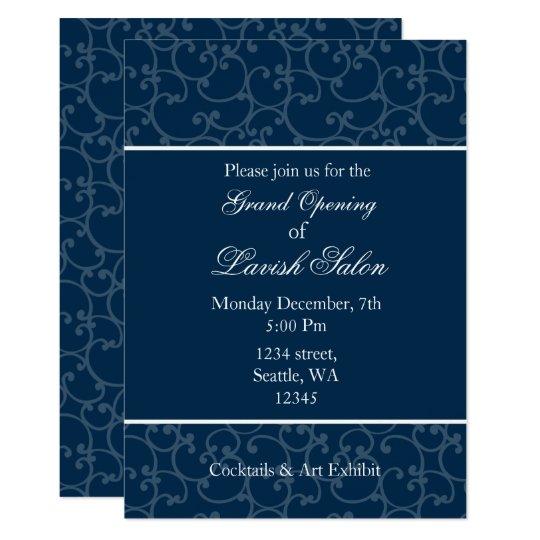 elegant corporate party invitation zazzle com