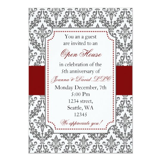 Elegant Corporate party Invitation
