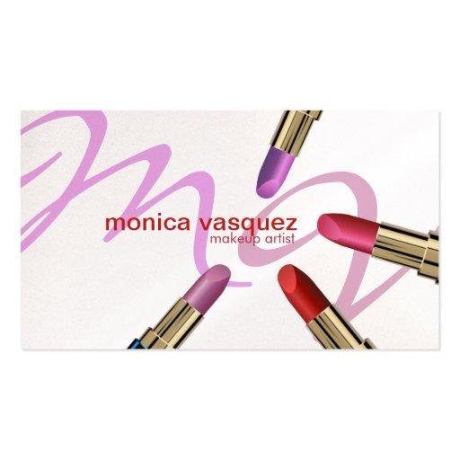 Elegant Cosmetologist Business Card