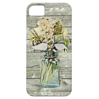 Elegant country floral damask vintage iPhone 5 cases