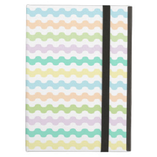 Elegant Cover iPad of strips of colors and zigzag Case For iPad Air