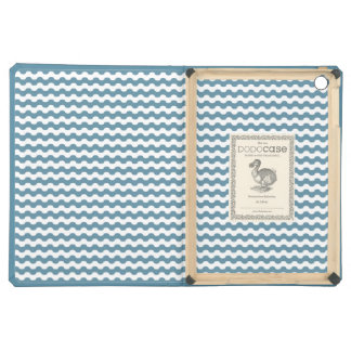 Elegant Cover iPad with sea of smooth waves in blu Cover For iPad Air