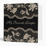 Elegant Crochet Lace Avery Binder