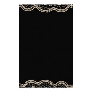 Elegant Crochet Lace Stationery
