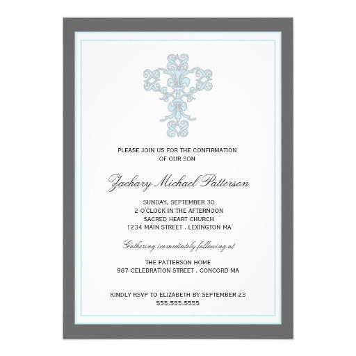 Invitations Confirmation is luxury invitation ideas