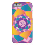 Elegant Crown Chakra Yoga Meditation Enthusiast's Barely There iPhone 6 Case