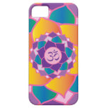 Elegant Crown Chakra Yoga Meditation Enthusiast's iPhone 5 Covers