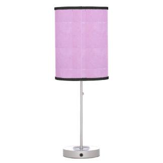 ELEGANT CRYSTAL  STONE  SPARKLE CREAM PINK TABLE LAMP
