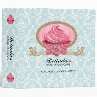 Elegant Cupcake Bakery 2 Inch Binder