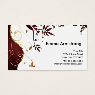 Elegant Custom Business Card
