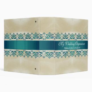 Elegant Customizable Wedding Binder