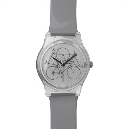 Elegant Cycling Hour Wrist Watches