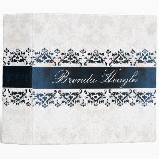 Elegant Damask Avery Binder