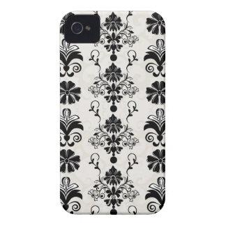 Elegant damask Blackberry bold case