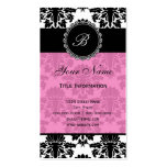 Elegant Damask Double-Sided Standard Business Cards (Pack Of 100)