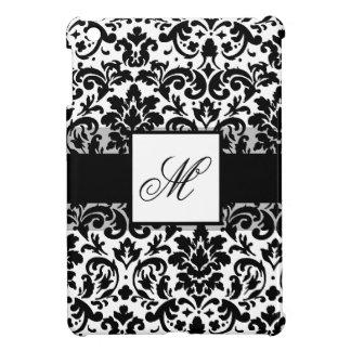 Elegant damask calligraphy design case for the iPad mini