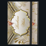 "Elegant Damask Caramel Cream Beige Gold Amber 2 iPad Air Cover<br><div class=""desc"">iCase iPad Mini Case with Kickstand Elegant Damask Caramel Cream Beige Gold Amber Fashionable add Name Fashionable Trendy Computers</div>"