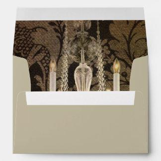 elegant damask chandelier Interior Designer Envelope