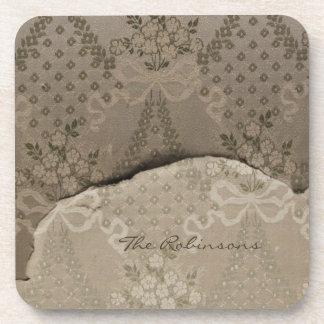Elegant Damask Coaster