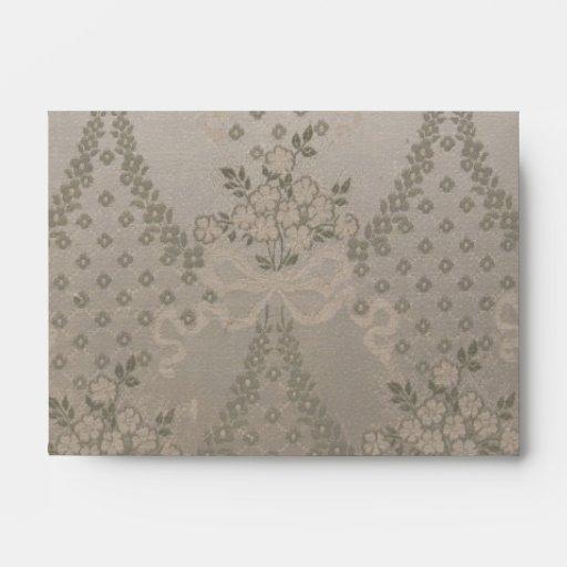Elegant Damask Envelope