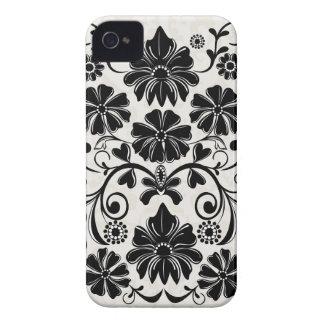 Elegant damask floral Blackberry bold case