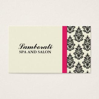 Damask wedding decor business cards templates zazzle elegant damask floral wedding planner stylist business card junglespirit Gallery
