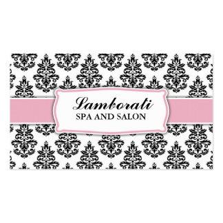 Elegant Damask Floral Wedding Planner Stylist Double-Sided Standard Business Cards (Pack Of 100)