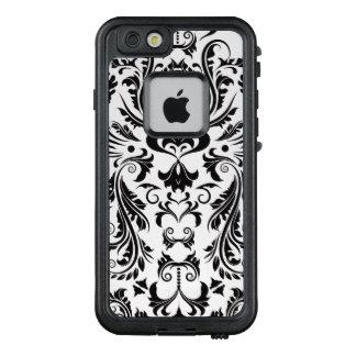 Elegant Damask Pattern Design LifeProof FRĒ iPhone 6/6s Case