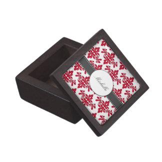Elegant Damask Premium Gift Box