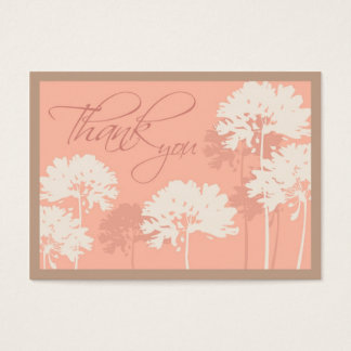 Elegant Dandelions Notecard Business Card