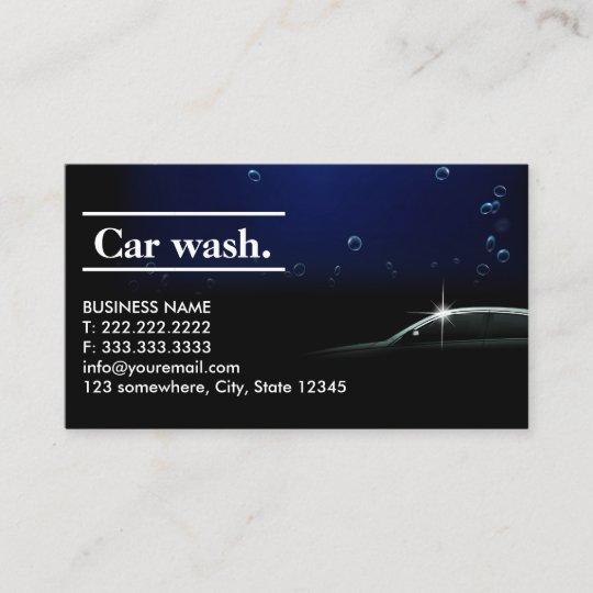 Elegant dark auto detailingcar wash business card zazzle elegant dark auto detailingcar wash business card colourmoves