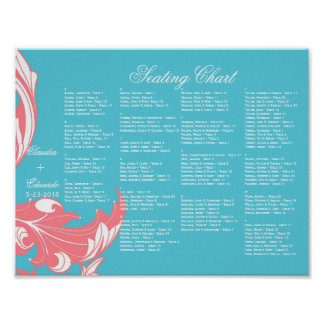Elegant Dark & Classy Florals - Sky Blue, Pink Print