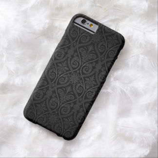 Elegant  Dark Damask iPhone 6 Case