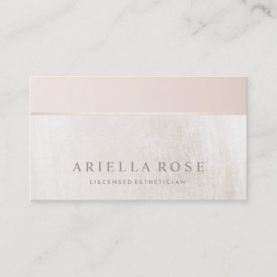 Esthetician business cards zazzle elegant day spa and salon blush pink white marble business card colourmoves