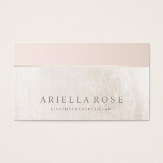 Tractor business cards tractorama elegant day spa and salon blush pink white marble business card reheart Choice Image