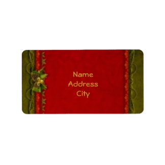 Elegant Deco Personalized Address Label