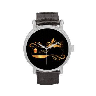 Elegant, decorative design wristwatch