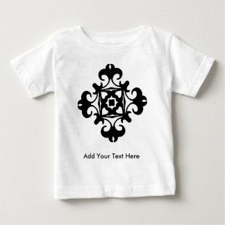 Elegant Decorative Florette Vintage French Baby T-Shirt