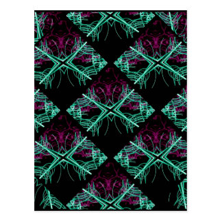 Elegant Decorative Pattern Postcard