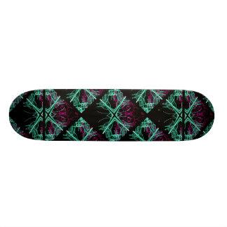 Elegant Decorative Pattern Skateboard Deck
