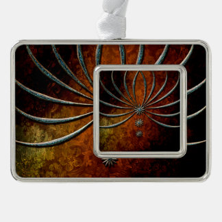 Elegant, decorative stars christmas ornament