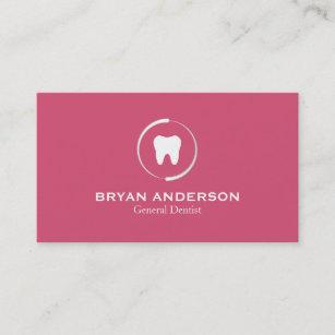 Dental business cards templates zazzle elegant dental business card colourmoves