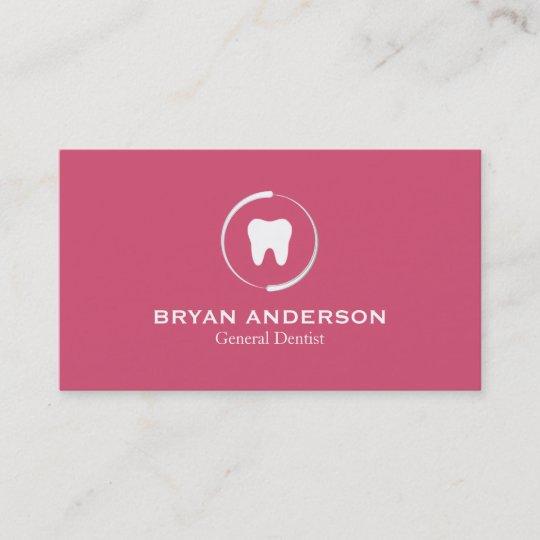 Elegant dental business card zazzle elegant dental business card reheart Choice Image