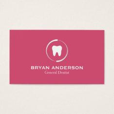 Elegant Dental Business Card at Zazzle