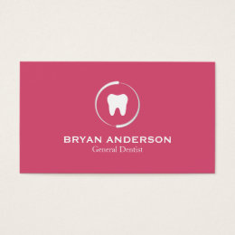General dentist business cards templates zazzle elegant dental business card reheart Image collections