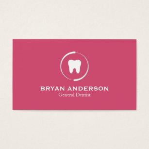 Dental business cards templates zazzle elegant dental business card reheart Gallery